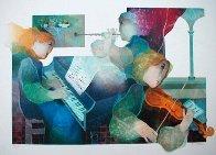 Lyric Suite, Set of 4  (Rare) Limited Edition Print by Sunol Alvar - 0