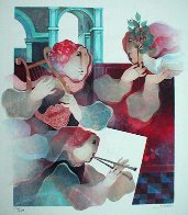 Lyric Suite, Set of 4  (Rare) Limited Edition Print by Sunol Alvar - 2