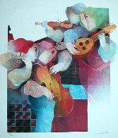 Lyric Suite, Set of 4  (Rare) Limited Edition Print by Sunol Alvar - 3