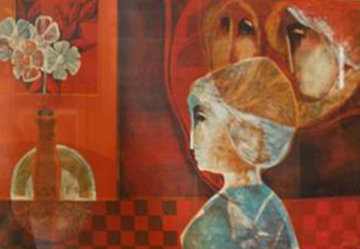 Three Women Limited Edition Print by Sunol Alvar