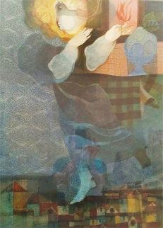 Reve Du Village 1983 Limited Edition Print by Sunol Alvar