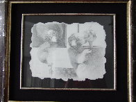 Untitled Drawing 2005 12x15 Drawing by Sunol Alvar - 4