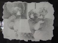 Untitled Drawing 2005 12x15 Drawing by Sunol Alvar - 5
