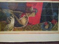 Interior Rojo Limited Edition Print by Sunol Alvar - 1