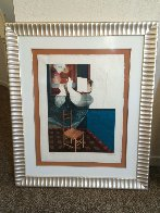 Suites Interiore Bleue, Set of 3 Lithographs 1979 Limited Edition Print by Sunol Alvar - 3