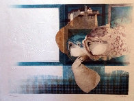 Suites Interiore Bleue, Set of 3 Lithographs 1979 Limited Edition Print by Sunol Alvar - 2
