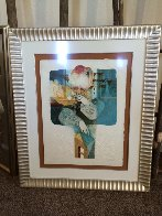 Suites Interiore Bleue, Set of 3 Lithographs 1979 Limited Edition Print by Sunol Alvar - 4