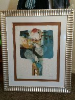 Suites Interiore Bleue, Set of 3 Lithographs 1979 Limited Edition Print by Sunol Alvar - 5