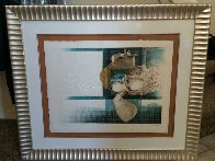 Suites Interiore Bleue, Set of 3 Lithographs 1979 Limited Edition Print by Sunol Alvar - 6