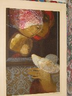 Amore Y Maternidad (Love And Maternity) Suite of 6 1976 Limited Edition Print by Sunol Alvar - 7