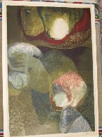 Amore Y Maternidad (Love And Maternity) Suite of 6 1976 Limited Edition Print by Sunol Alvar - 10