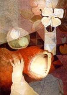Bouquet Sur La Table 1991 Limited Edition Print by Sunol Alvar