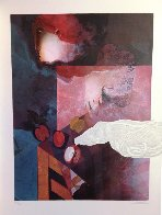 Woman With Dove 1992 Limited Edition Print by Sunol Alvar - 1
