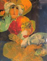 Untitled 1970 Limited Edition Print by Sunol Alvar - 0