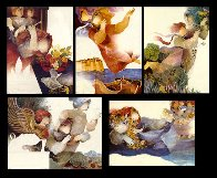 Suite Mythologique Suite of 5 Limited Edition Print by Sunol Alvar - 9