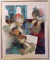 Lyrique Suite: 2pc.  Duo and Quartet 1993 Limited Edition Print by Sunol Alvar - 2