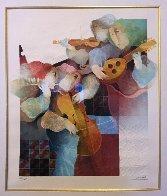 Lyrique Suite: 2pc.  Duo and Quartet 1993 Limited Edition Print by Sunol Alvar - 4