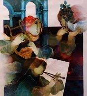 Lyrique Suite: 2pc.  Duo and Quartet 1993 Limited Edition Print by Sunol Alvar - 1