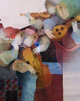 Lyrique Suite: 2pc.  Duo and Quartet 1993 Limited Edition Print - Sunol Alvar