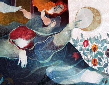La Nuit (Night) From Les Temps de Nos Jours Limited Edition Print by Sunol Alvar