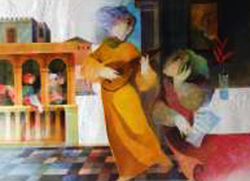 Suite Lyrique: Solo 1993 Limited Edition Print - Sunol Alvar