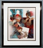 Suite Lyrique: Duo  1993 Limited Edition Print by Sunol Alvar - 1