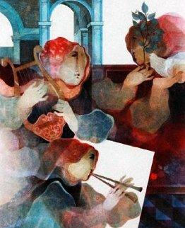 Suite Lyrique: Duo  1993 Limited Edition Print by Sunol Alvar