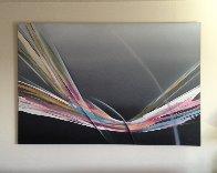 Untitled Painting 48x72 Super Huge Original Painting by Elba Alvarez - 3
