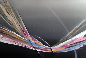 Untitled Painting 48x72 Huge Original Painting - Elba Alvarez