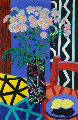Still Life 1990 54x39 Original Painting - Amanda Watt