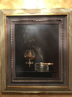 Cigar And Brandy 42x40 Super Huge Limited Edition Print by Teimur Amiry - 1