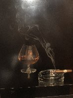 Cigar And Brandy 42x40 Super Huge Limited Edition Print by Teimur Amiry - 2
