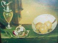 Untitled Still Life 24x28 Super Huge Original Painting by Teimur Amiry - 2