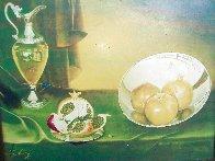Untitled Still Life 24x28 Super Huge Original Painting by Teimur Amiry - 15