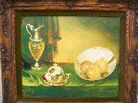 Untitled Still Life 24x28 Super Huge Original Painting by Teimur Amiry - 4
