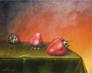 Untitled Original 17x15 Original Painting - Teimur Amiry