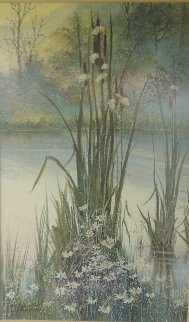 Gathering in the Season Dyptych 1987 28x19 Limited Edition Print by Diane Anderson