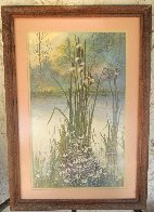 Gathering in the Season Dyptych 1987 28x19 Limited Edition Print by Diane Anderson - 1