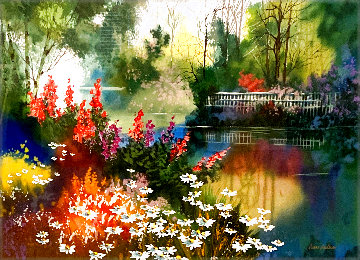 Spring Gardens Suite: Spring Blooms Limited Edition Print - Diane Anderson