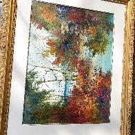 Savored Memory 1980 Watercolor 52x43 Super Huge Watercolor by Diane Anderson - 12
