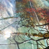 Savored Memory 1980 Watercolor 52x43 Super Huge Watercolor by Diane Anderson - 14