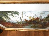 Savored Memory 1980 Watercolor 52x43 Super Huge Watercolor by Diane Anderson - 3