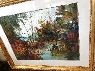 Savored Memory 1980 Watercolor 52x43 Super Huge Watercolor by Diane Anderson - 2