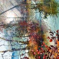 Savored Memory 1980 Watercolor 52x43 Super Huge Watercolor by Diane Anderson - 8