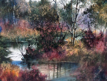 Reflections Original Painting by Diane Anderson