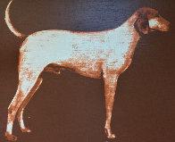 Medium Dog (Rust) 1998 Limited Edition Print by Joe Andoe - 1