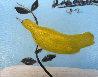 Bird on a Limb 1992 8x10 Original Painting by Joe Andoe - 0