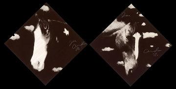 2 Horses Suite 1998 Limited Edition Print by Joe Andoe