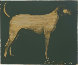 Medium Dog (Olive, Rust, and Burgundy) 1998 Limited Edition Print by Joe Andoe - 1