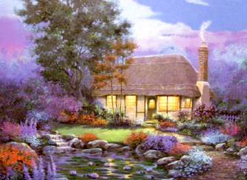 Lily Cottage Limited Edition Print - Andrew Warden